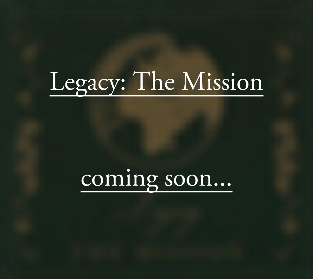 Legacy Cover Mission comingsoon